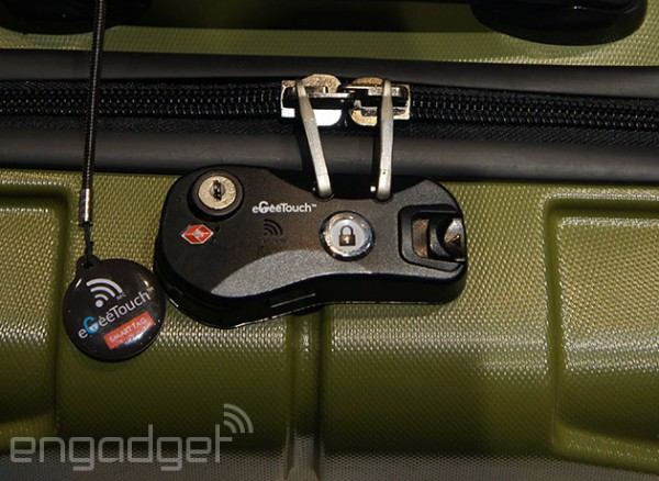 eGeeTouch Smart Luggage Lock