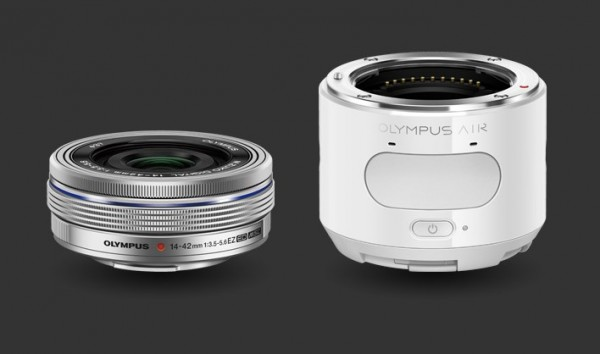 Olympus Air A01 Lens-Style Micro Four Thirds Camera Kit
