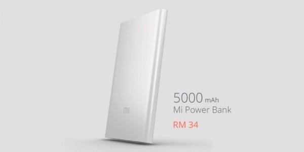 Xiaomi Malaysia 5200mAh Power Bank