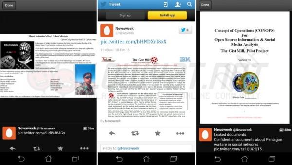 CyberCaliphate Hacked Newsweek's Twitter Account