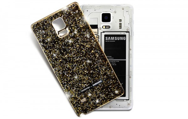 Swarovski Galaxy Note 4 Back Cover