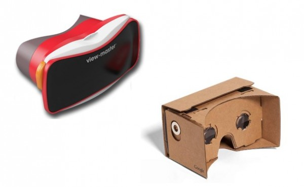 The New View-Master vs Google Cardboard