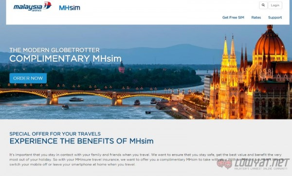 Malaysia Airlines MHsim