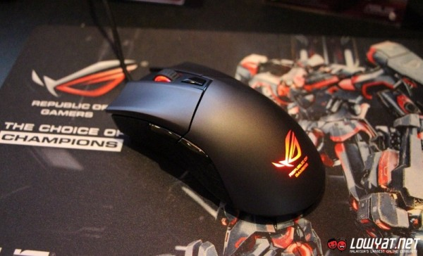 ASUS ROG Gladius Mouse Quick Look 03