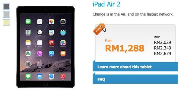 Celcom iPad Air 2