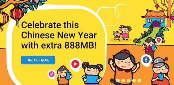 Digi 888MB free Internet