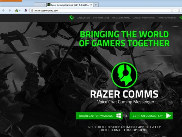 Fake Razer Comms