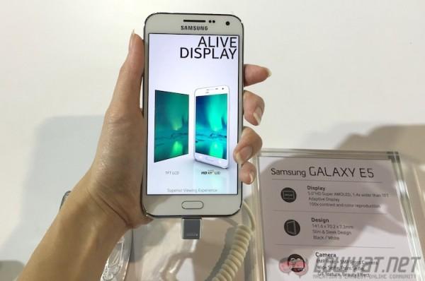Galaxy E5 Hands On