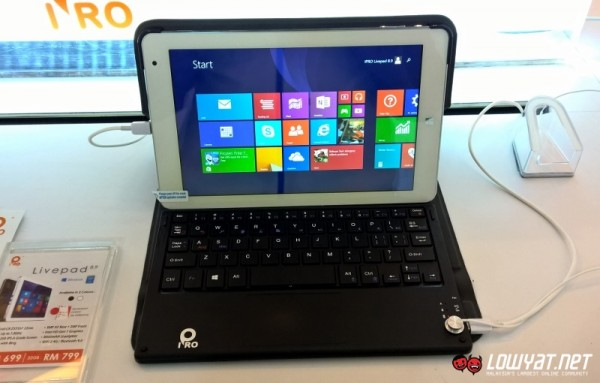 IPRO Livepad 8.9 Windows 8.1 Tablet 01
