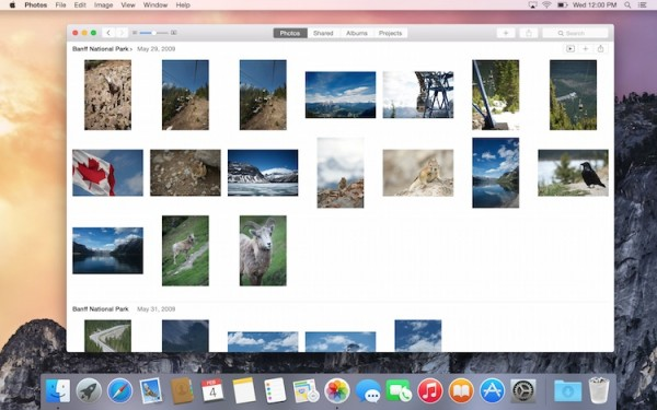 New Photos app for Mac