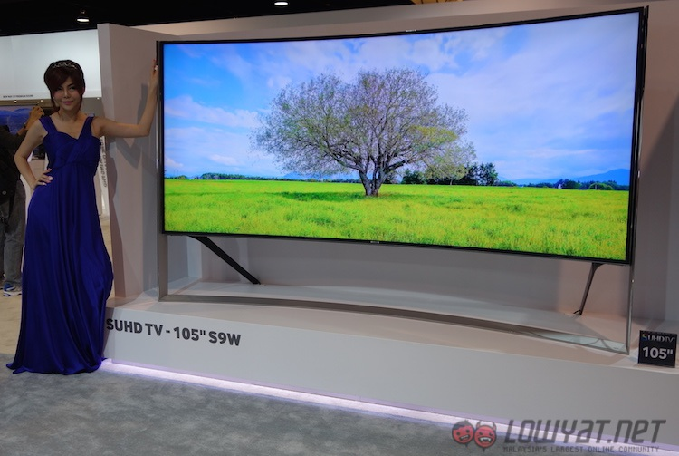 samsung shows off its new suhd tvs in sea forum 2015. Black Bedroom Furniture Sets. Home Design Ideas