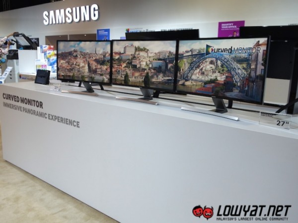 Samsung Curved Monitors 2