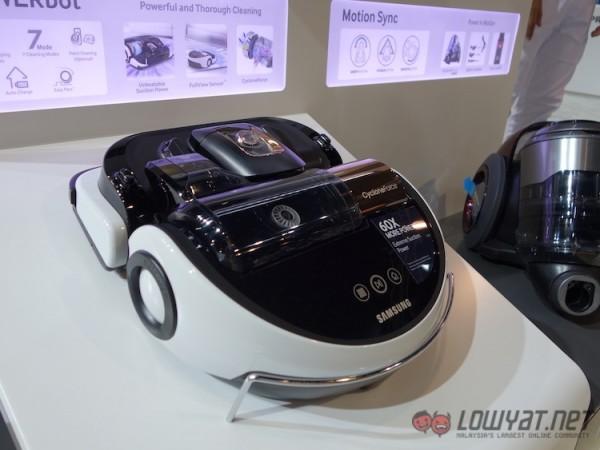 Samsung PowerBot Robot Vacuum Cleaner