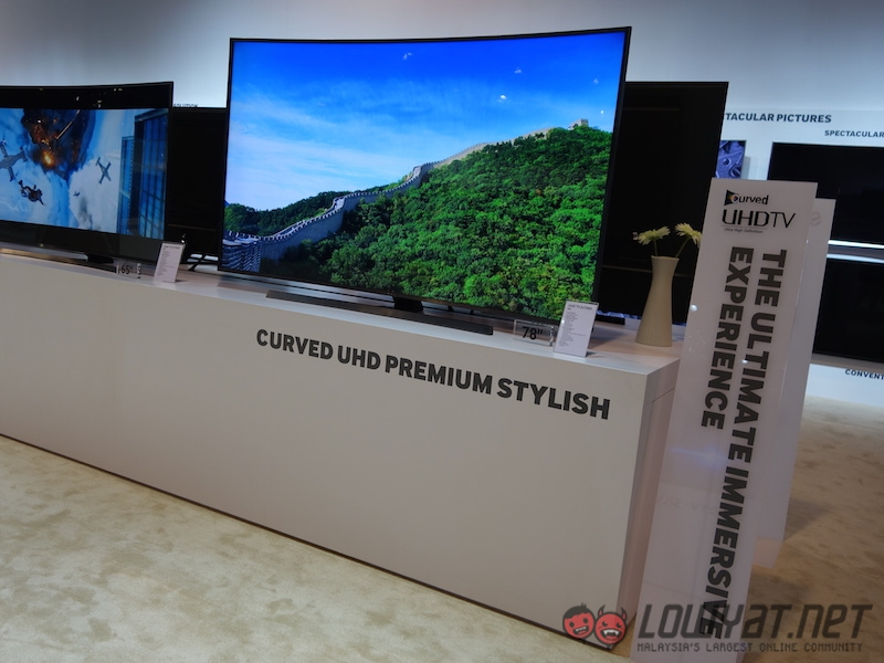 Samsung Shows off its New SUHD TVs in SEA Forum 2015, Coming Soon to