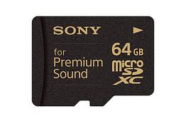 Sony Premium Sound microSD card