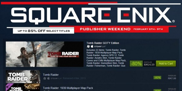 Square Enix Weekend