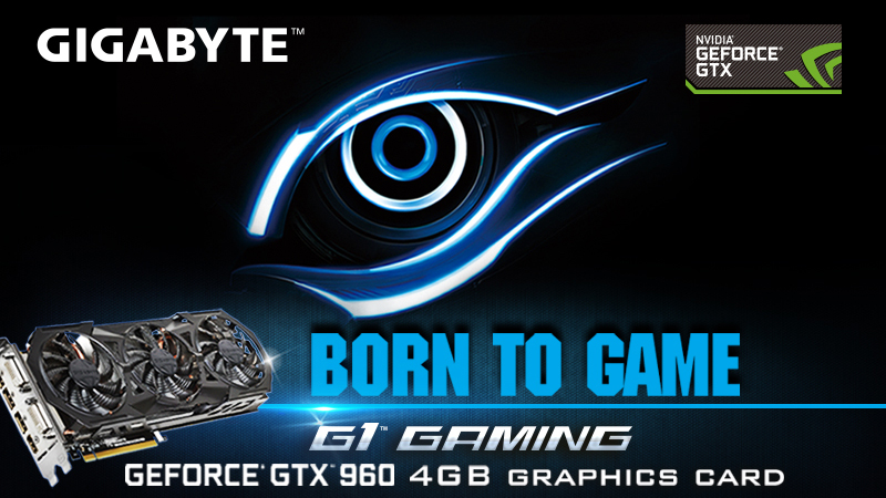 Winners Announcement: GIGABYTE GeForce GTX 960 4GB G1 Gaming Graphics Card Giveaway