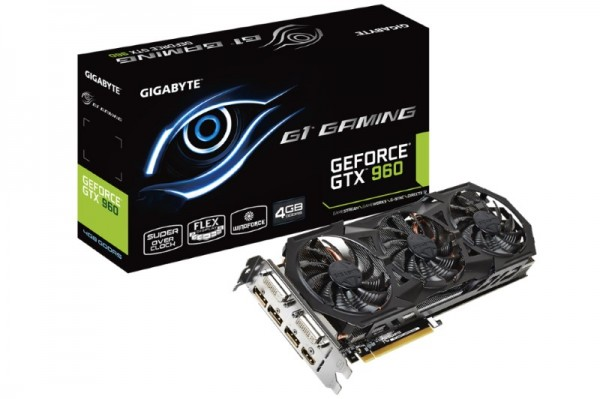 GIGABYTE GeForce GTX 960 4GB G1 Gaming