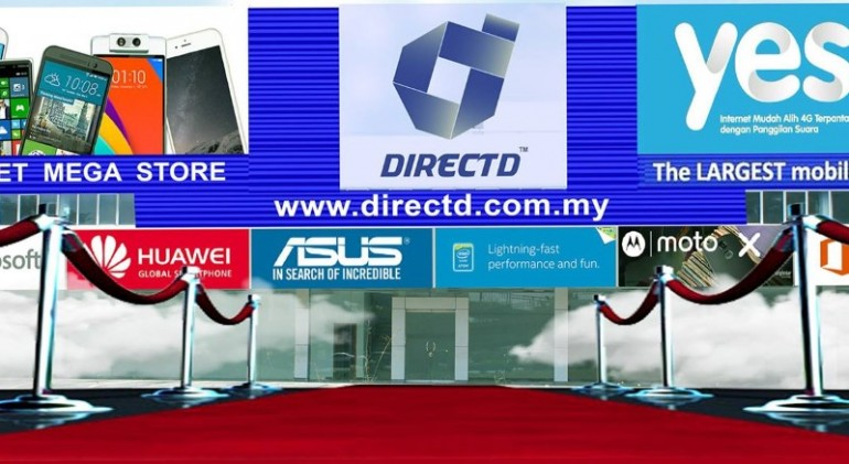 Directd mega store opens on 30 march said to be the largest mobile directd mega store opens on 30 march said to be the largest mobile phone store in malaysia sciox Choice Image