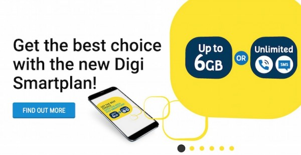 All New Digi SmartPlan with High Voice or High Data