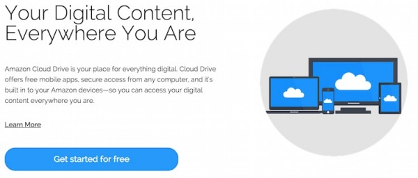 Amazon Cloud Drive Get Started for Free