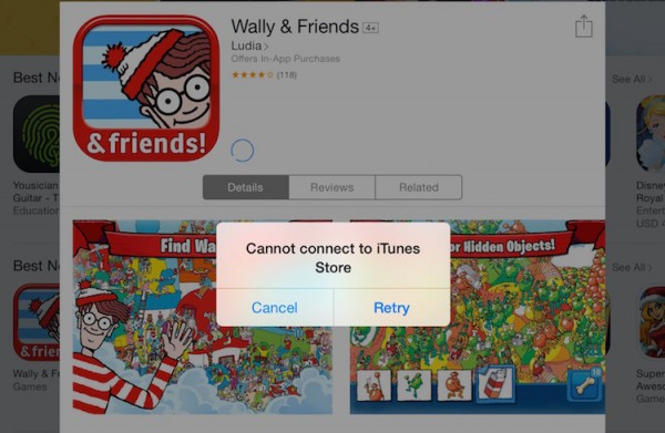App Store Down Right Now