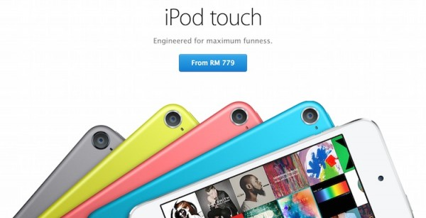 Apple iPod touch Malaysia from RM779