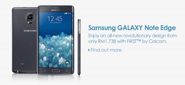 Celcom Samsung Galaxy Note Edge