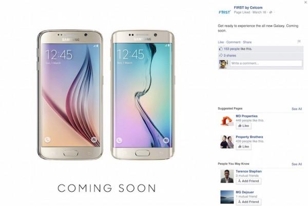 Celcom Samsung Galaxy S6 S6 edge teaser