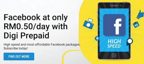 Digi Facebook 50 cents