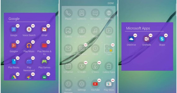 You Can Uninstall Preloaded Apps on the Samsung Galaxy S6