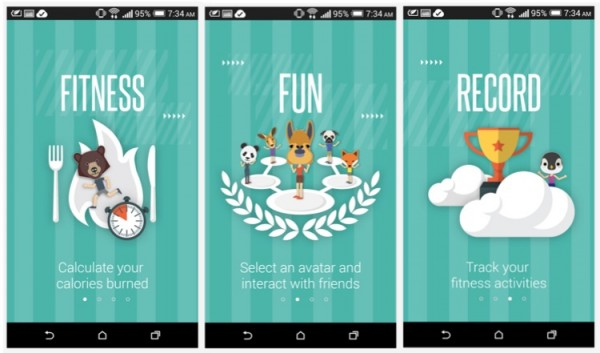 HTC Fun Fit App