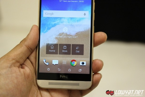 HTC One M9 Hands On41