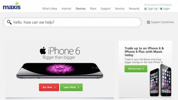 Maxis iPhone 6
