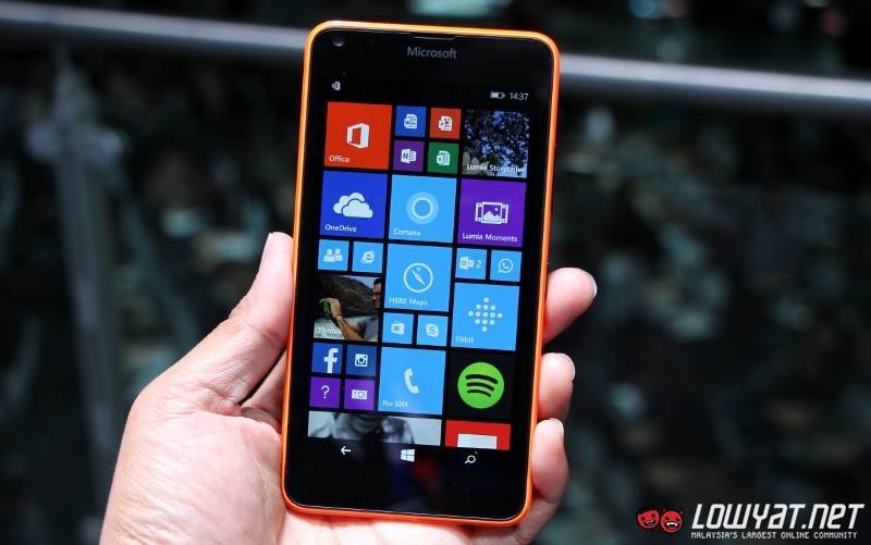 MWC 2015: Hands On With Microsoft Lumia 640