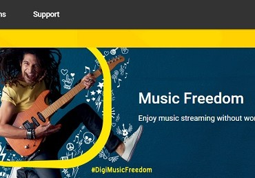 Music Freedom header