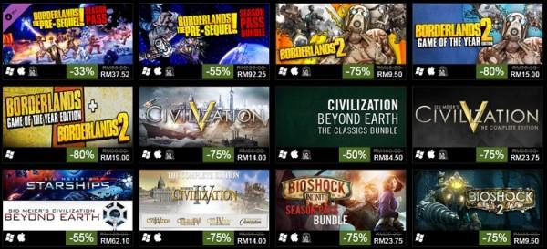 Steam 2k 10 anniversary sale