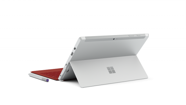 Surface 3 - back view with Type Cover
