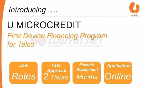 U Mobile U Micro Credit