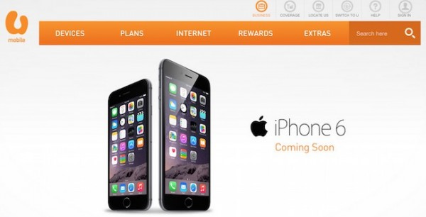 U Mobile iPhone 6 Coming Soon