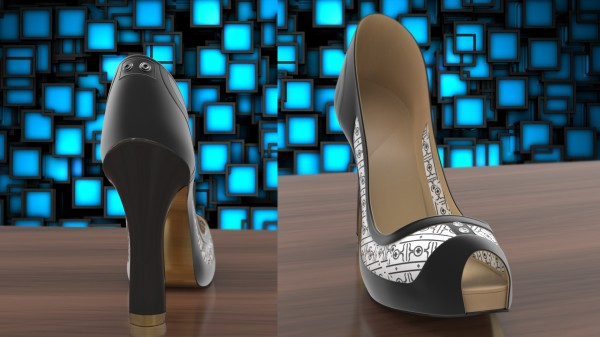 Volvorii E Ink Shoe