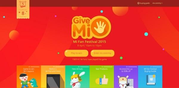 Xiaomi Malaysia Mi Fan Festival