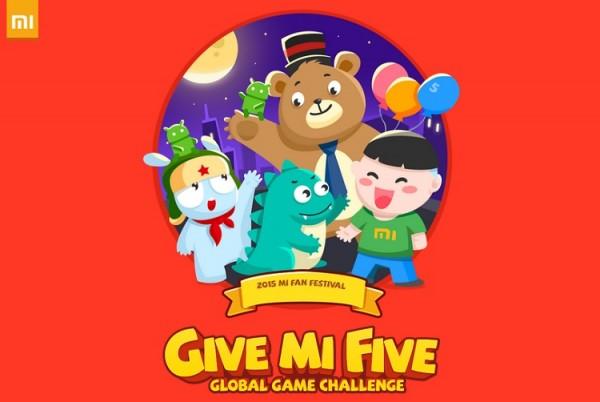 Xiaomi Mi Fan Festival Give me Five Game