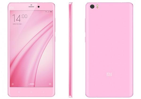 Xiaomi Mi Note in Pink