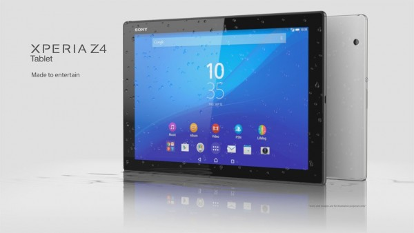 MWC 2015: The Sony Xperia Z4 Tablet Goes Official – 2K Display, Snapdragon 810 and More