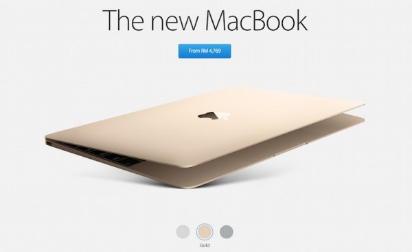 Apple Malaysia Online Store New MacBook