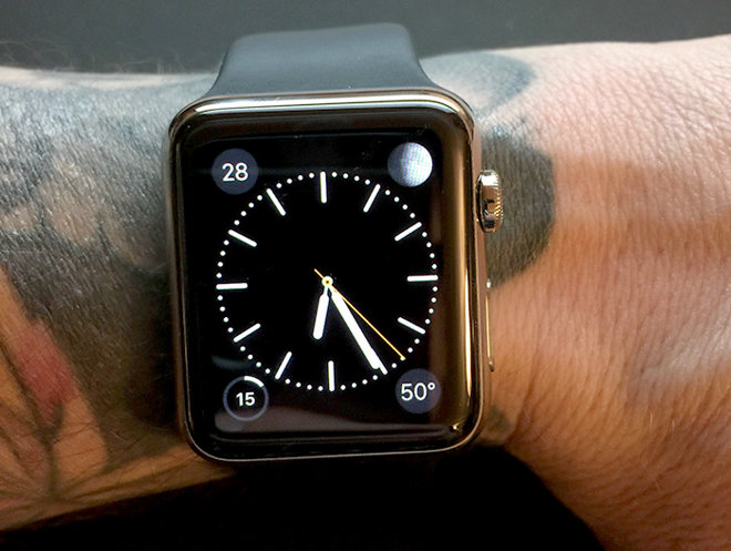 Apple Watch on Tattooed Skin
