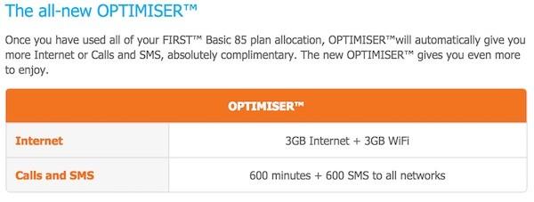 Celcom First Basic All New Optimiser