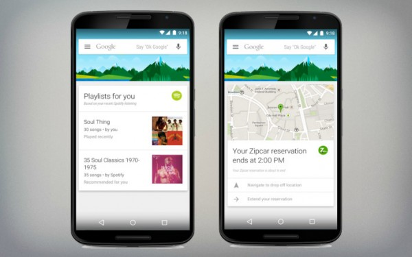 Google Now Adds 70 Third Party Apps Integration