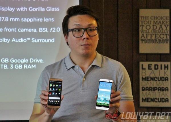 HTC One M9 Wayne Tang